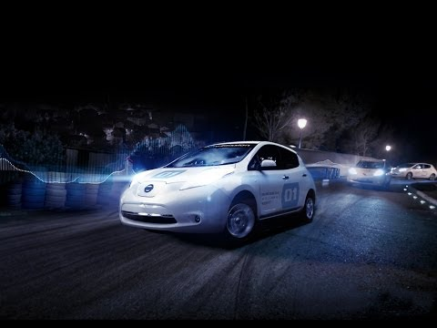 The Silent Ride with the Nissan LEAF 100% Electric car