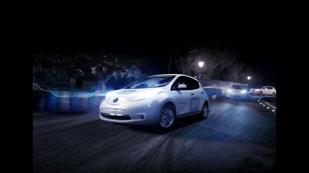 The Silent Ride With Nissan Leaf 100 Electric Car