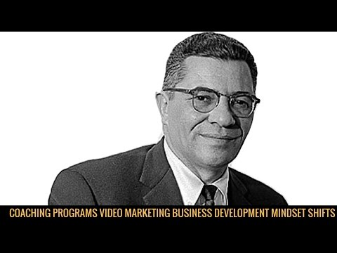 New Consulting Programs – Video Marketing/ Business Coaching/ Mindset Shifts