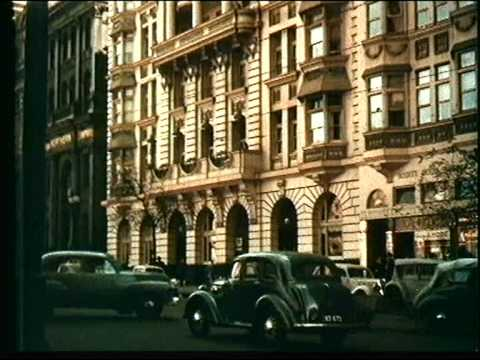 Melbourne 1956 Colour Footage.