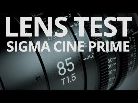 Sigma 85mm T15 Cine Prime - Lens Test 🎥