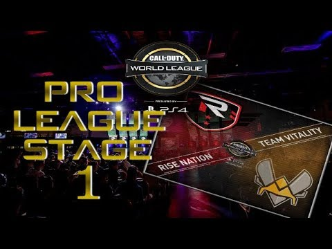 WWII Pro League Stage 1-Rise vs. Vitality