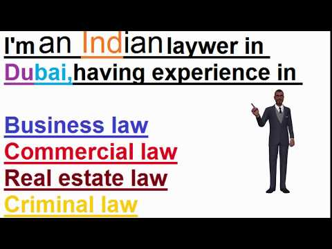 Indian Lawyers in Dubai - Indian Law firms in Dubai