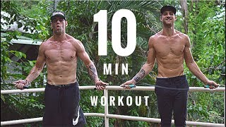 10 Min Jump Rope Workout | Zen Dude Fitness