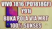 Remove PIN VIVO Y91, Y91i & Y93 PD1818CF / PD1818DF