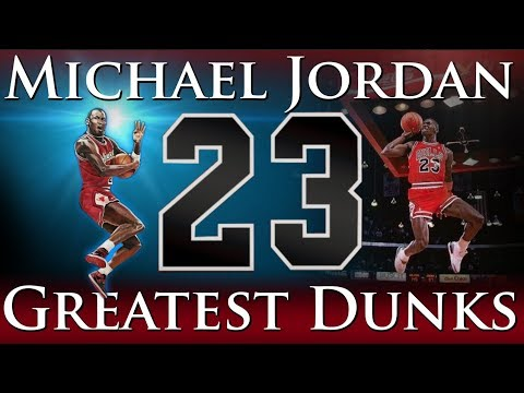 Greatest Dunks of Michael Jordan\'s Career