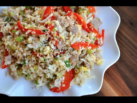 High Protein Fried Rice