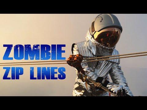 ZOMBIE ZIP LINES (Call Of Duty Custom Zombies Mod)