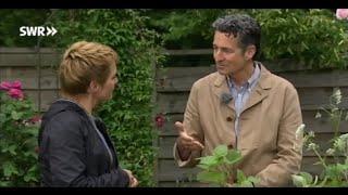 Dr. Markus Strauß im SWR Fernsehen am 10.6.2015 Franzosenkraut Giersch Melde Lindenblüte Taglilie