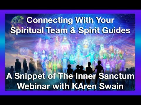 how to connect with the spirit world