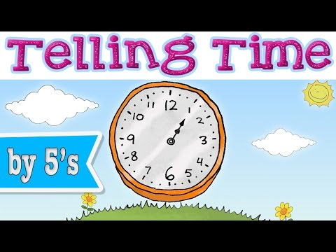 Telling Time With Minutes