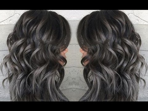 Metallic Pearl Gray Hair Color Ideas Youtube