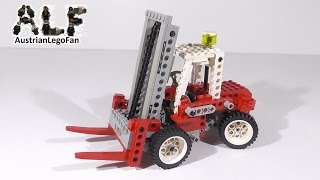 Lego Technic 8835 Forklift / Gabelstapler - Lego Speed Build Review