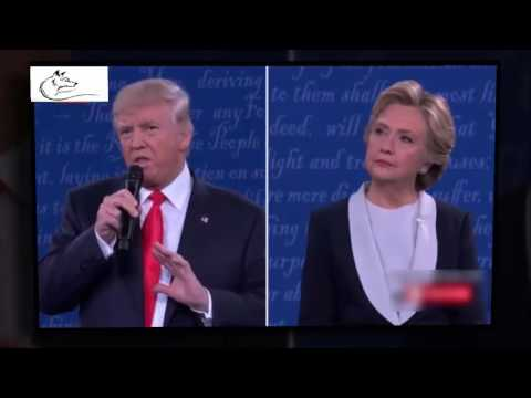 The Best Moment Of The 2nd Presidential 2016 Debate! Trump Vs Hillary  Get Ready For Fireworks