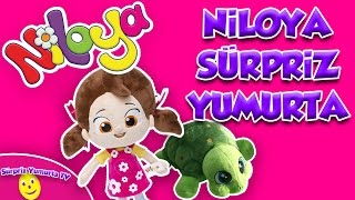 Niloya Mete ve Tospik 8 Sürpriz Yumurta Oyun Hamuru   Niloya Çizgi Film