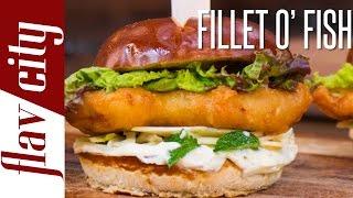 Filet-O-Fish Sandwich (Collab w/ Aida Mollenkamp) - FlavCity with Bobby
