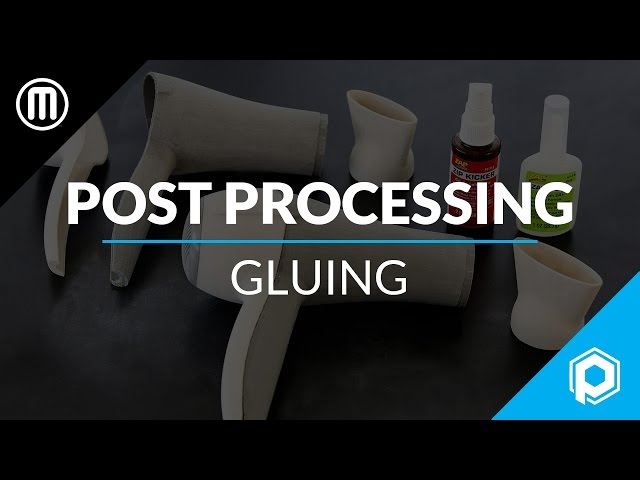 Finishing 3D Prints 101: How to Glue 3D Printed Parts Together