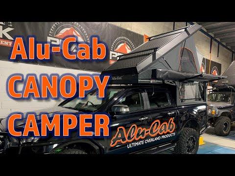Peak Offroad Equipment - Introducing The Alu-Cab Canopy Camper