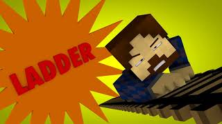 24 Minecraft Parody Animation   THE DARK KNIGHT!
