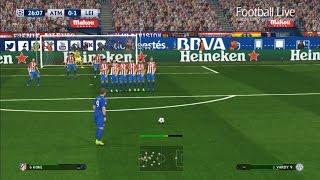 PES 2017 | Atletico Madrid vs Leicester City | Free Kick Goal Jamie Vardy | UEFA Champions League