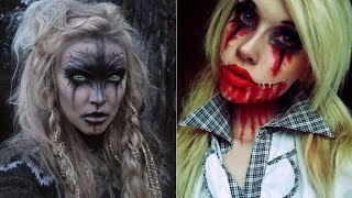 Halloween Makeup - Pretty And Scary Halloween Makeup Ideas - MUST SEE 2018 #2