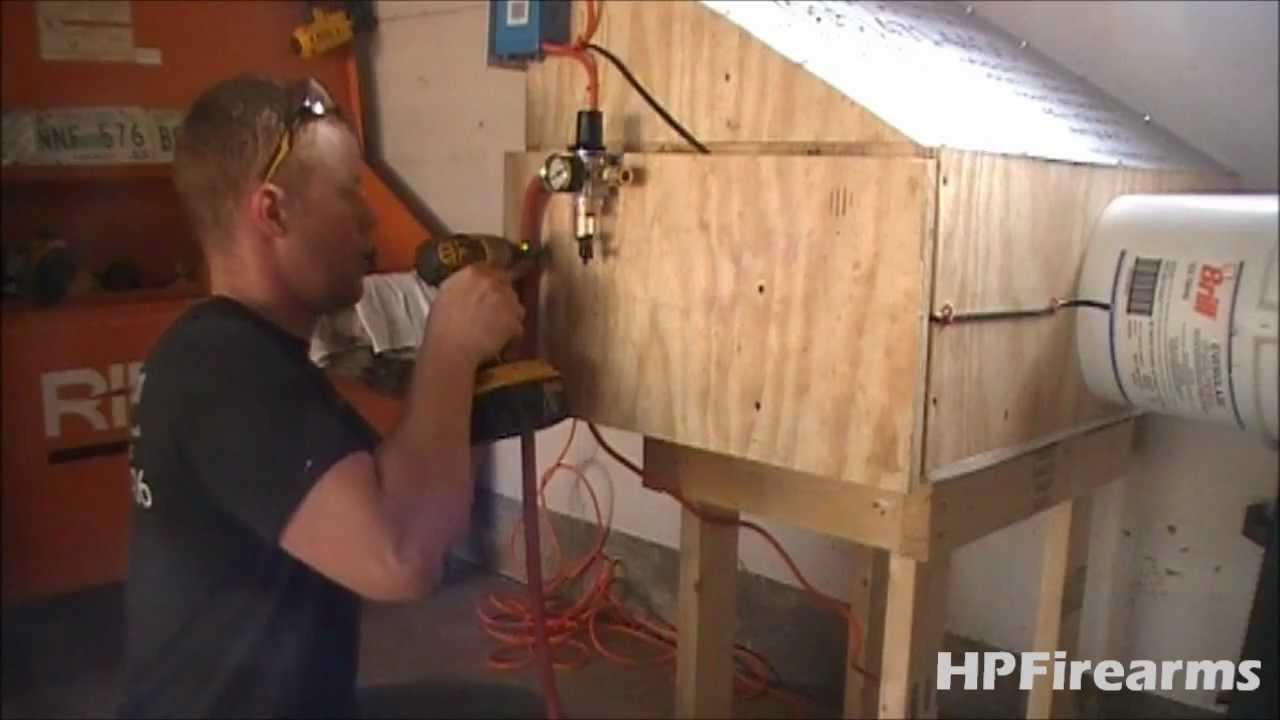 Installing Air Amp Exhaust For Spray Booth By Hpfirearms