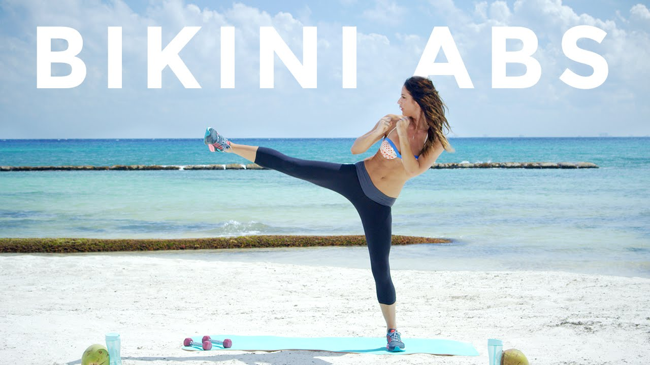 Light Dumbbell Bikini Abs Workout Created by Tone it up