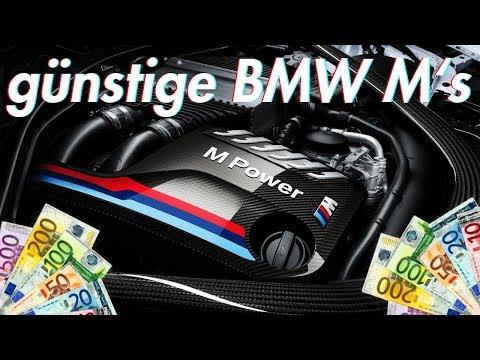 Die günstigsten BMW M Modelle die du dir leisten kannst!
