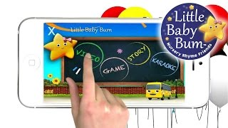 Nursery Rhymes App from LittleBabyBum for iOS/Android Phones/Tablets!
