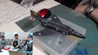 好評発売中! エアフィックス 1/72 イギリス海軍 マクドネル・ダグラス FG.1ファントムをつくる ~仕上げ編~