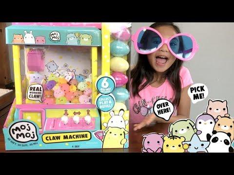 Fun Moj Moj Claw Machine! We got RARE & ULTRA RARE | Toys ...