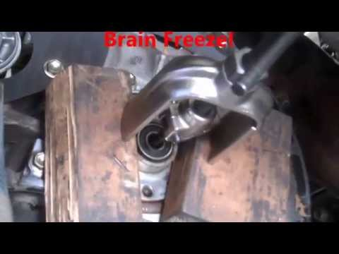 Clutch replacement Toyota Tacoma Manual transmisson removal 1997