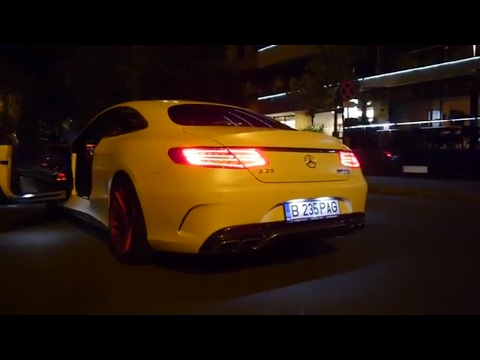 Best Of Supercars In Bucharest 2016