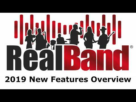 RealBand® 2019 New Features Overview Video - YouTube