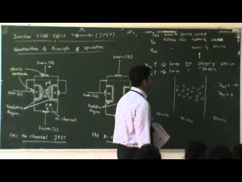 Lecture 25 Junction Field Effect Transistor