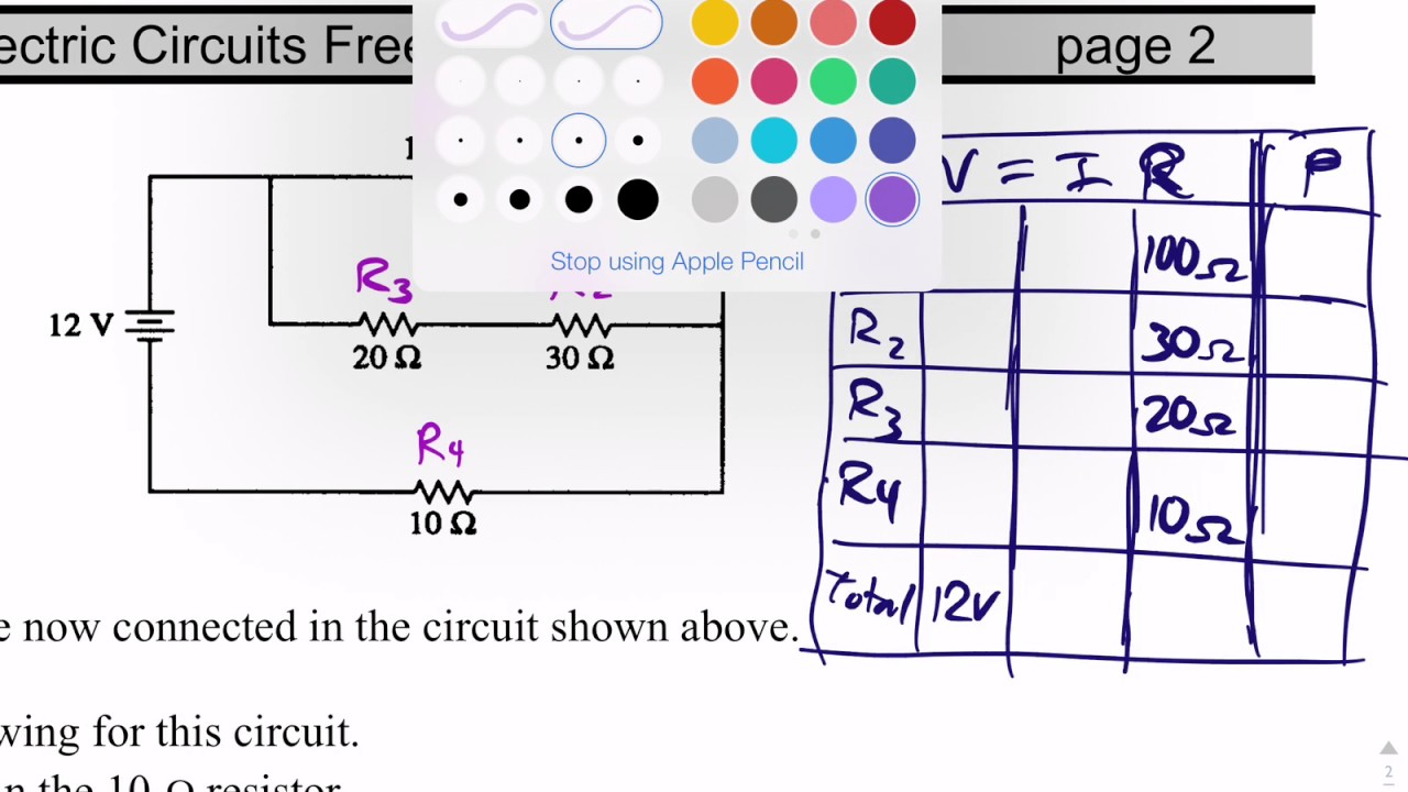 dc circuits 3 of 4 collapsing a combination circuit ap physics 1 free response practice [ 1280 x 720 Pixel ]