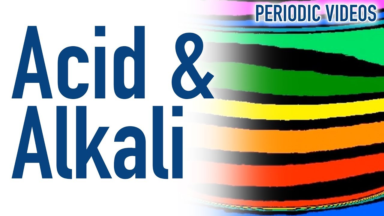 Acid and alkali thermal imaging periodic table of videos youtube urtaz Image collections