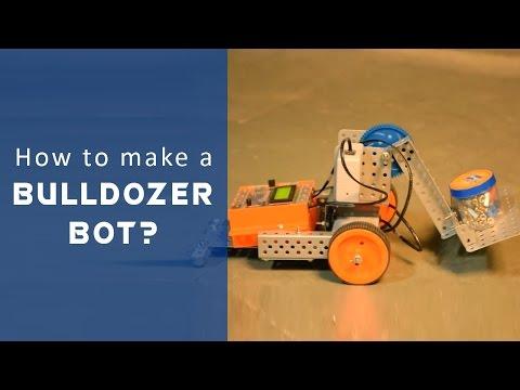 Let's Avishkaar #10: How to make a Bulldozer Bot