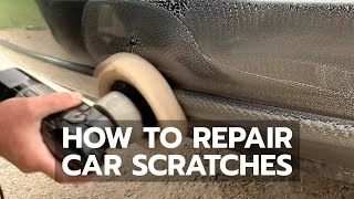 EASY CAR SCRATCH REPAIR: Buffing Pad & Rubbing Compound Does Wonders