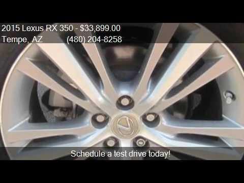 2015 Lexus RX 350 Base 4dr SUV for sale in Tempe, AZ 85281 a