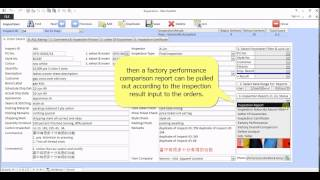 AQL inspection factory quality comparison software