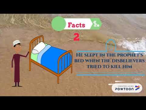 Important facts about Ali bin Abi Talib