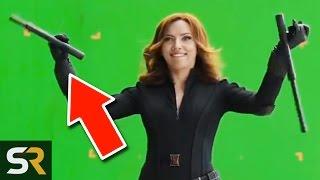 Repeat youtube video 10 Marvel Bloopers You Haven't Seen From Fun Superhero Actors!