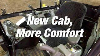 R-Series Excavators: New Cab, More Room