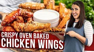 Crispy Oven Baked Chi¢ken Wings