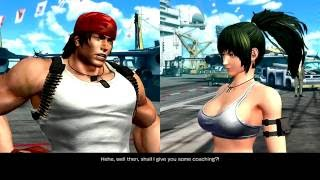 The King of Fighters XIV (PlayStation 4) Story as Ikari Team
