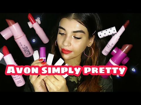 Avon Simply Pretty Lipstick Swatches + Demo |  Ritika Sengupta