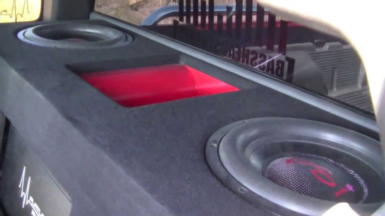 Chevy S10 Xtreme Bass