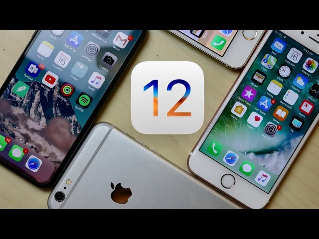 WATCH THIS BEFORE UPDATING TO iOS 12!