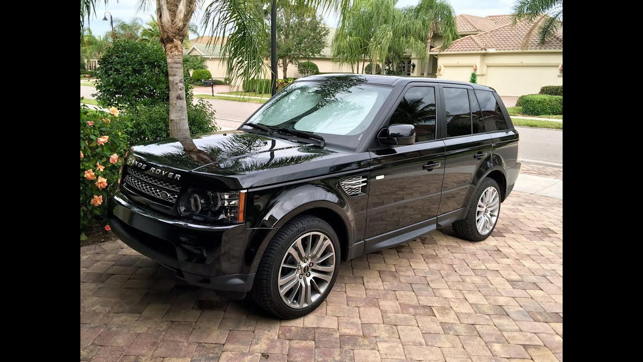 2012 Range Rover Sport HSE LUX New Addition
